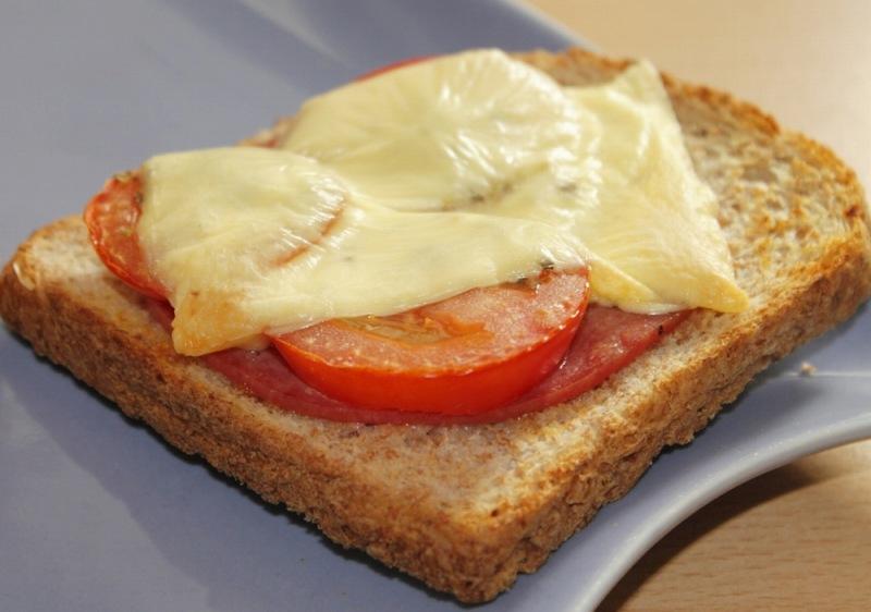 バルミューダトースター チーズトースト