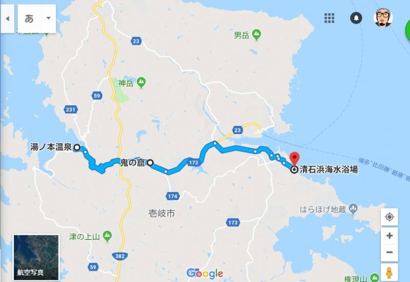 壱岐 横断