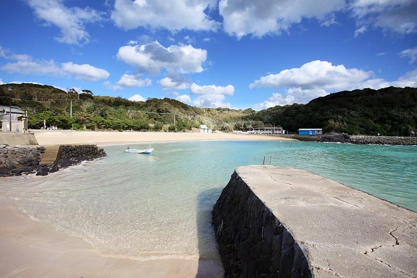 郷ノ浦町の海水浴場