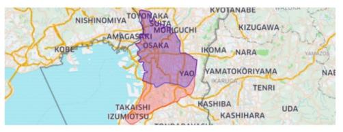 ウーバーイーツ大阪 拡大