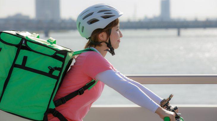 UberEats配達パートナー 女性
