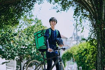 Uber Eats(ウーバーイーツ)京都の配達パートナーになろう 登録とエリアを解説