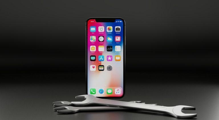 iPhone修理 配送
